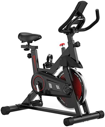 Indoor Exercise Bike Exercise Cycling Bike with I pad Mount Comfortable Seat Cushion Indoor product image