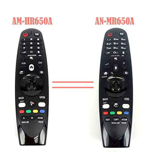 AM-HR650A AN-MR650A - Mando a Distancia para televisor LG Magic 55UK6200 49uh603v Fernbedienung AM-HR650A.