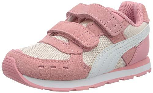PUMA Vista V Inf Sneaker, Rosewater-Peony White, 27 EU