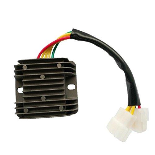 perfk 1 Stück Spannungsregler Gleichrichter elektronischen Komponenten Motorrad Regler Für Hyosung GV Aquila FI 250 von 2009 bis 2013 32800HN9101