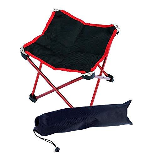 TRJGDCP Ultralight Mini Draagbare Outdoor Camping Vrije tijd Picnic Beach Vouwstoel Aluminium Oxford Doek Visstoel vouwkrukje