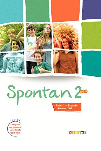 Spontan 2 neu palier 1 - 2e année - Livre