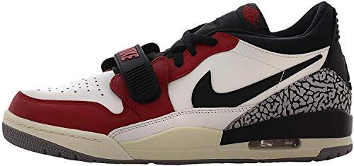 Nike Air Jordan Legacy 312 Low - black/varsity red-black-cement grey, Größe:11 US, 45 EU