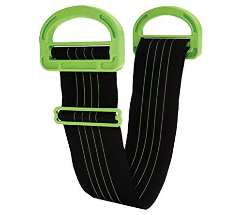 The Landle Adjustable Moving and Lifting Straps for Furniture, Boxes, Mattress, Construction Materials, or Other Heavy, Bulky, or Awkward Objects, Single or Two Person Carrying, 1 Strap Included