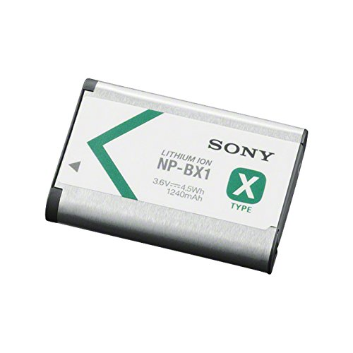 Sony NP-BX1 - Batería para Cámara de Fotos para DSC-RX100, DSC-RX1 (Li-ion 1240 mAh), Blanco