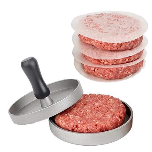 √ 4 IN 1 BURGER PRESS - Puoi spremere hamburger grandi o mini hamburger con questo kit di stampa hamburger di dimensioni diverse. Trasforma le tue polpette di hamburger nella forma e nelle dimensioni perfette ogni volta √ Preparare deliziosi hamburge...