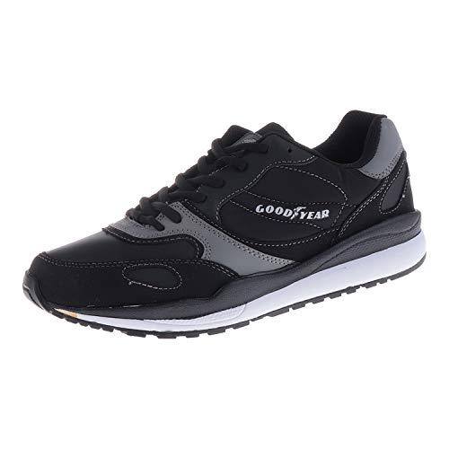 Goodyear. Herrenschuhe Sneaker Noir Tadley (41 EU)