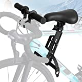 PEALOV kids MTB Child Seat and Handlebar Accessory Combo Pack, Front Mounted With Foot Pedals, Safe And Comfortable Kids Moutain Bike Seat Fits All Mountain Bikes Easy To Install And Remove