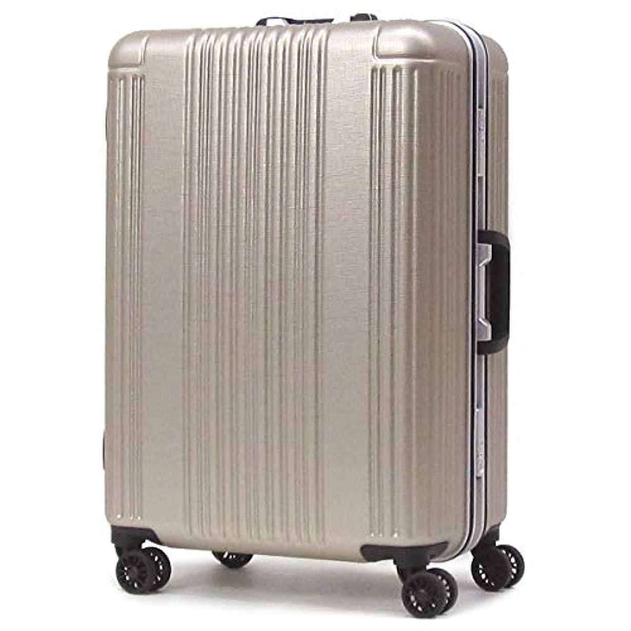 下に向けます最後のラップトップ[シフレ] スーツケース キャリーバッグ 軽量丈夫 ハードフレーム 90L 5.5kg 4-7泊 SIF1065-66