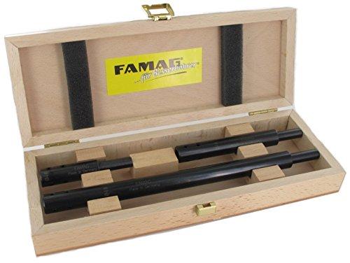 FAMAG 1639 3-teiliges Bohrer-Verlängerungs-Set ID 10mm, GL 80,125 250mm