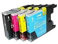 ≪ ブラザー Brother ≫ 4色 セット LC 17 - 4PK LC17BK C M Y 互換 インク