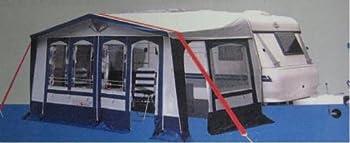 Résistent aux bourrasques de vent hekers sangle anti-tempête pour auvent de tente-noir