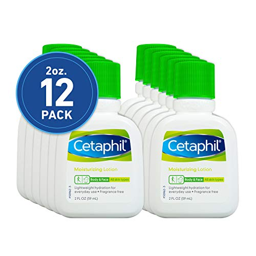 Cetaphil Lotion hydratante, sans parfum, 56,7 gram (lot de 12)