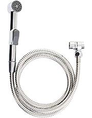 wastafeldoucheset, mobiele handdouche met doucheslang, eenvoudig omschakelen, incl. wandhouder, spoeldouche, douchekop, achteraf installeren