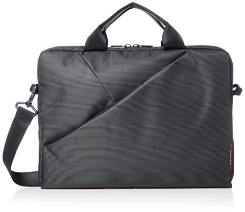"""RIVACASE Tasche für Notebooks bis 13.3"""" – Sehr flache Laptoptasche mit gepolsterten Fächern & viel Stauraum – Grau"""