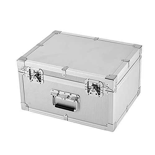 Caja de Herramientas Caja de herramientas de alta herramienta de aluminio Maletín de herramientas de almacenamiento portátil Caja de herramientas de transporte Equipo de cámara de PC Cofre Organizador