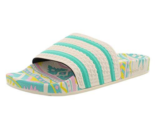 adidas Originals Adilette X Arizona Tea Mens Shoes Size 8, Color: Core White/Turquoise/Pink
