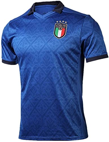 MINIDORA FIGC Italia Maglia da Calcio Nazionale Calcio Maglia per Uomo Adulto Maschio 2021 UEFA Euro...