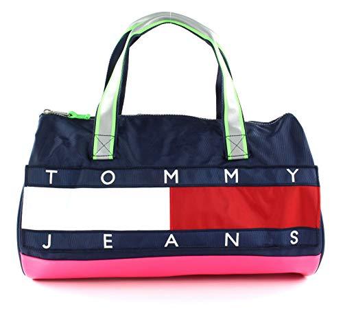 Tommy Hilfiger TJW Heritage Duffle Pink Glo/Black Iris