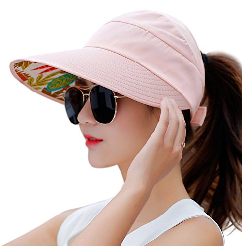 HindaWi Sun Hats for Women Wide Brim UV Protection Sun Hat Summer...