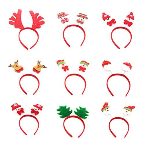 kerst haarband kruidvat