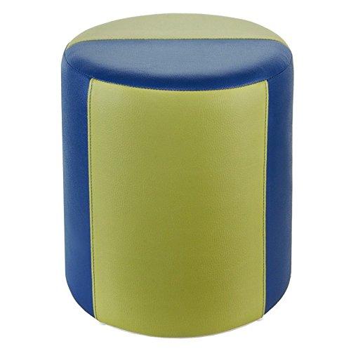 Kaikoon Tabouret de 2 Couleurs Bleu de Couleur Vert Clair Ø34 x 44 cm
