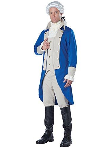 Men's George Washington/Thomas Jefferson/Alexander Hamilton/Colonial Costume
