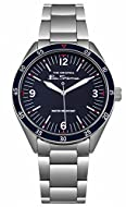 Ben Sherman Mens Analogue Classic Quartz Watch with Stainless Steel Strap BS007USM