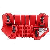 Caja multifunción para sierra de inglete, caja de gabinete, 22,5/45/90 grados, herramienta de corte de yeso para madera, caja de inglete para un corte preciso