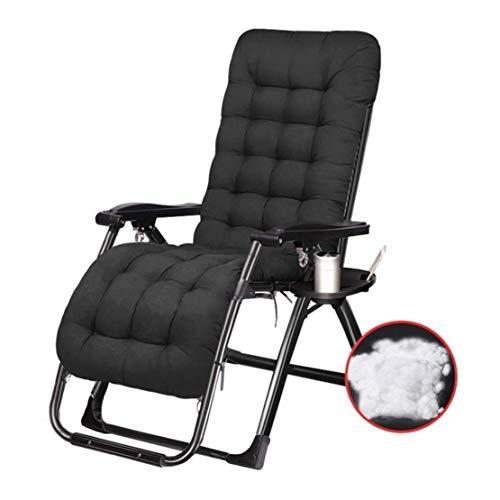 Huishoudelijke producten Opvouwbare Patio Lounge Ligstoelen Buiten Tuin Ligstoel Ligstoel met Kussen Hoogte Verstelbaar voor Zwembad, Strand, Camping