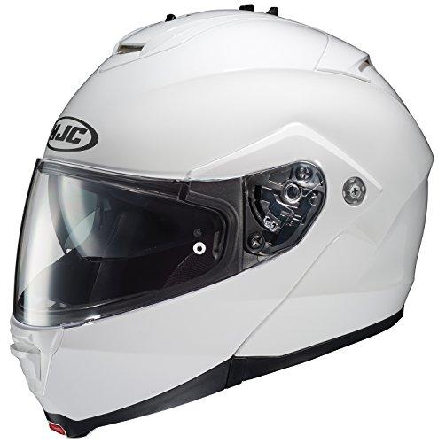 HJC 980-142 IS-MAX II Modular Motorcycle Helmet (White, Small)