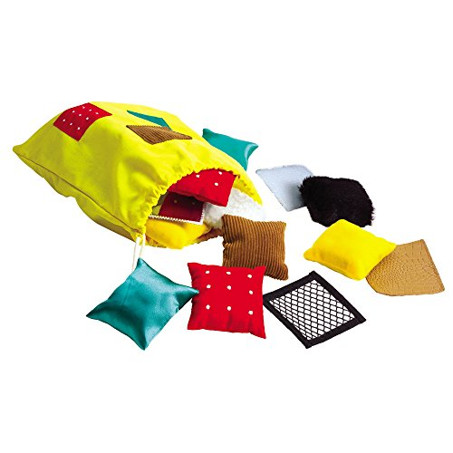 Educational Insights Teachable Touchables Textured Beanbags Squares, Sensory Toys, Preschool Toys