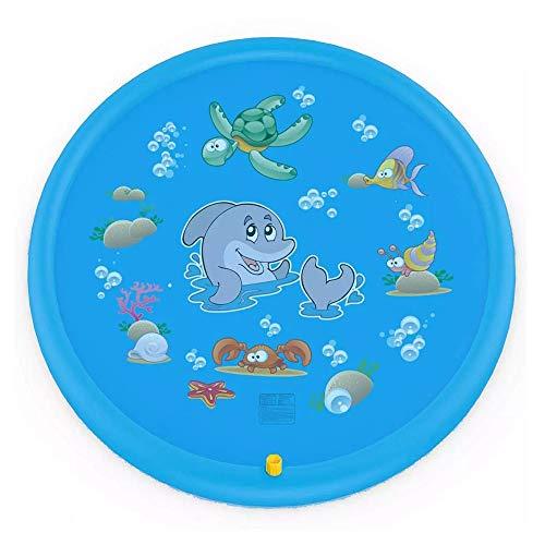 MXRLZX El Aerosol de Agua del cojín, Spray de Agua Plegable de los niños del Juego del Juguete de PVC Mat Agua, Verano del bebé de la Estera del Juego al Aire Libre Jardín (Size : 150cm)
