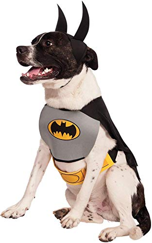 Rubie's offizielles Hundekostüm, Batman, Größe: L.