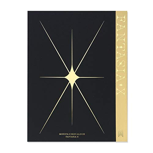 MONSTA X Mini Album - Fantasia X [ 4 ver. ] CD + Photobook + Photocard + Sticker +...