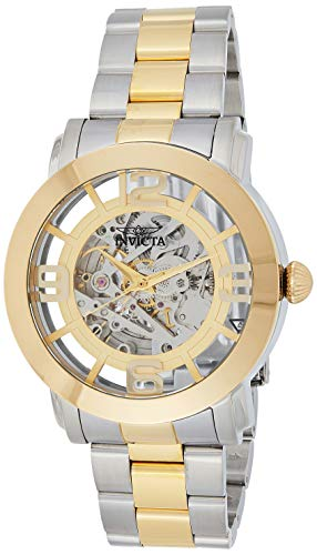 Invicta Men's Vintage 45mm Steel and Gold Tone Stainless Steel Automatic Watch, Two Tone (Model: 22583)