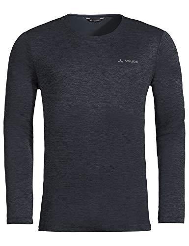 VAUDE Essential LS T-Shirt pour Homme Noir Phantom XL