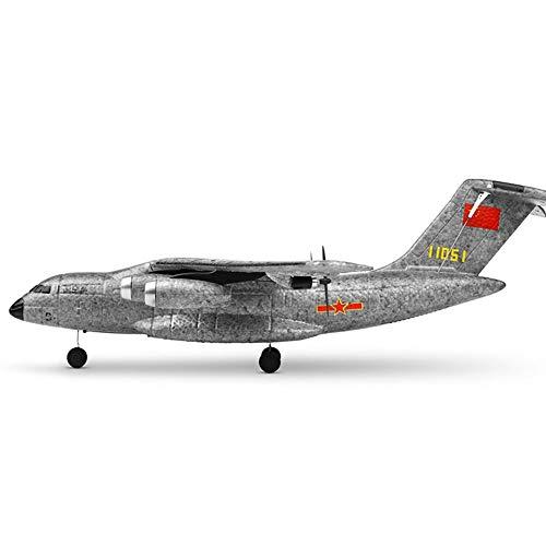 DBXMFZW 2.4g Radio Control Remoto Avión de 3 Canales Gyroscopio de 3 Canales RC Airplane Interior y al Aire Libre RC Aircraft EPP Foam RC Jet Regalos para niños y niñas Principiantes RTF