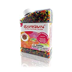 With over 200,000 satisfied customers, MarvelBeads is a brand name you can trust Encourages Sensory Exploration: Bright and engaging colors are sure to keep kids (3+) engaged Promotes Learning: Helps kids with color recognition, counting & fine motor...