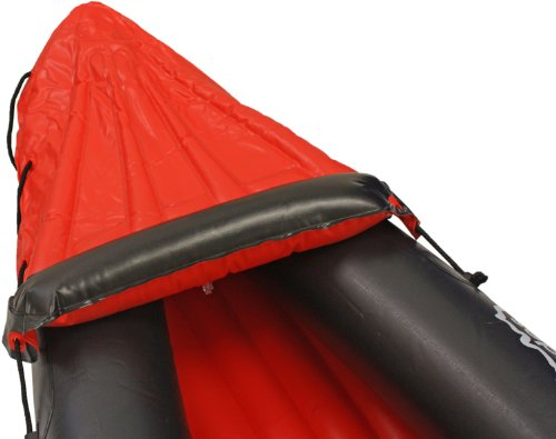 Andes Red Inflatable/Blow Up Two Person Kayak/Canoe With Paddle Water Sports