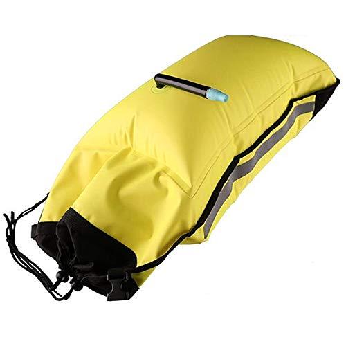 Domilay la Bolsa de Remo Inflable para Kayak Bolsa de Flotabilidad Bolsa de FlotacióN Bolsa de Remo Flotador de Paleta de Dos CáMaras