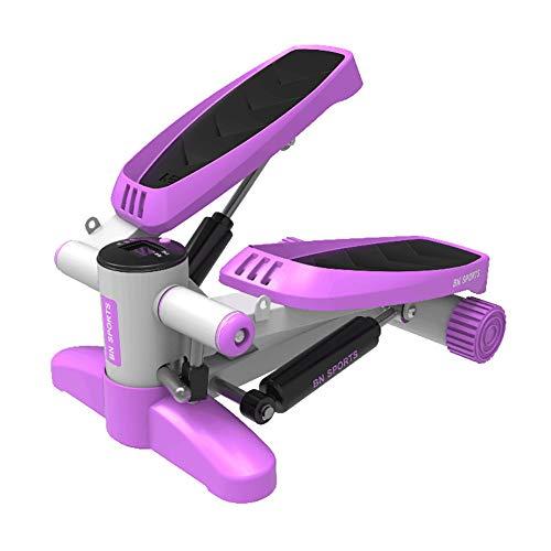 LYzpf Stepper Máquinas de Step Fitness Stair Portátil Mini Steppers Movimiento Equipo de Entrenamiento Físico Steps para Hacer Ejercicio en la Oficina Casa,Purple