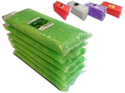 Boston Tech BE-106a - Cera de parafina aroma a Aloe Vera para tratamiento de manos y pies. Tratamiento para artritis y dolores musculares