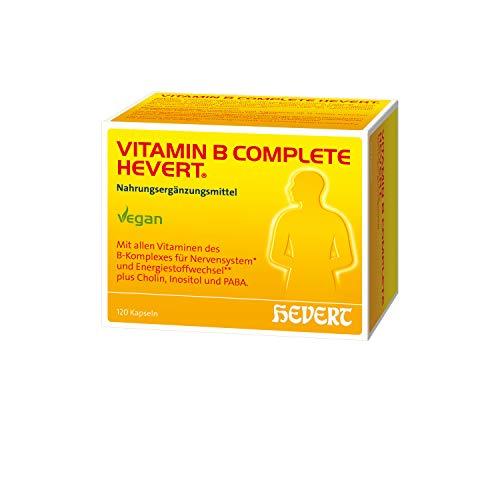 Vitamin B Complete Hevert, 120 St. Kapseln