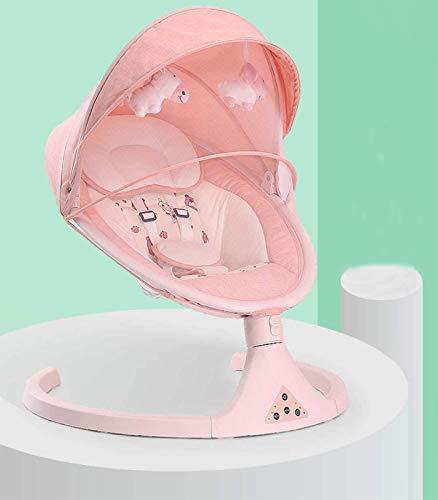Homeatk Bebé balancín eléctrico recién Nacido Balance Columpios Silla 1-3 años niño...