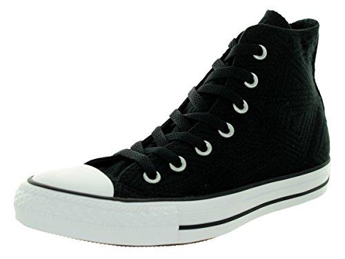 All Star Oxford - Zapatillas de lona para niños, color negro (blanco...