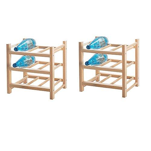 IKEA Hutten 9 Weinregal / Flaschenregal 2er Set