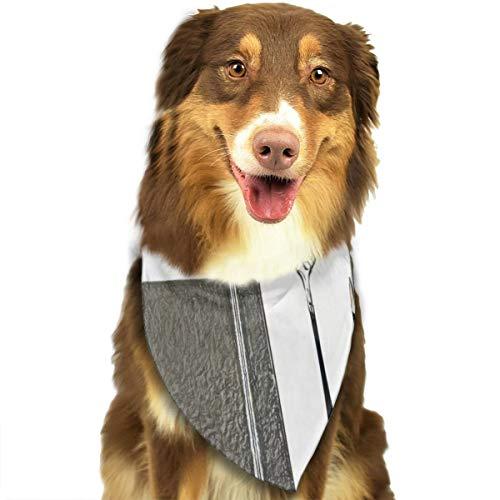 Bbgsw zilveren lepel, boek, vork, schaar, en pen aangepaste hond hoofddoek felgekleurde sjaals schattige driehoek slabbetjes accessoires voor huisdier honden