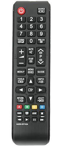 allimity AA59-00743A Ersetzen Fernbedienung für Samsung TV PS43F4900AK PS43F4900AW PS51F4900AK PS51F4900AW UE32F6100AK UE32F6100AW UE40F6100AK UE40F6100AW UE40F6170SS UE46F6100AK
