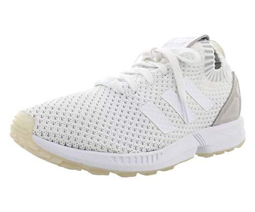 adidas ZX Flux Prime Knit Hommes US 8.5 Blanc Chaussure de Course